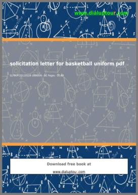 Solicitation letter for basketball pdf fill online printable solicitation letter for basketball pdf thecheapjerseys Image collections