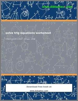 solving exponential equations worksheet - Edit, Fill, Print