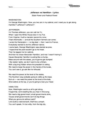 Sly image inside hamilton lyrics printable