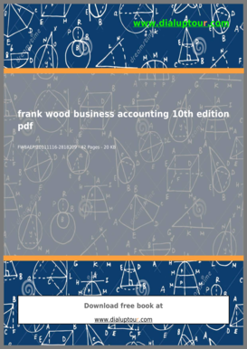 Advanced Financial Accounting 10th Edition Pdf