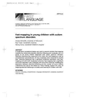Fillable Online vkc mc vanderbilt Fast-mapping in young children ...