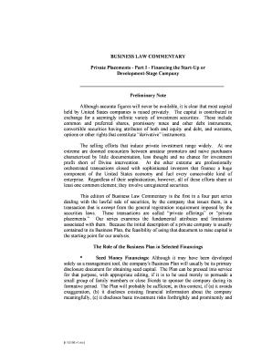 Editable private placement memorandum template doc - Fill Out, Print