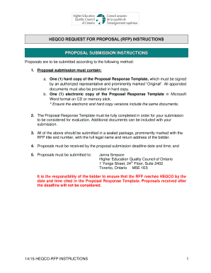 16 Printable Rfp Response Template Forms Fillable Samples In Pdf