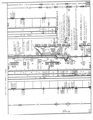 SP Lawrence-Burbank Jct Track Chart 1-1-1992pdf