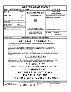 free bid proposal template pdf edit online fill out download