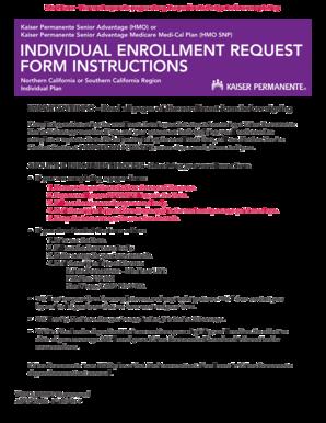Fillable Online info kaiserpermanente 2015 KPSA DPA Enrollment ...