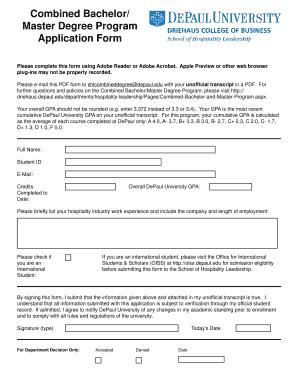 degree application form - Edit Online, Fill, Print & Download Hot