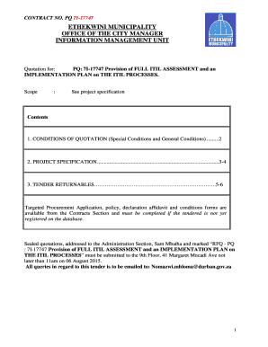 234095573 Job Application Form Ethekwini Munility on