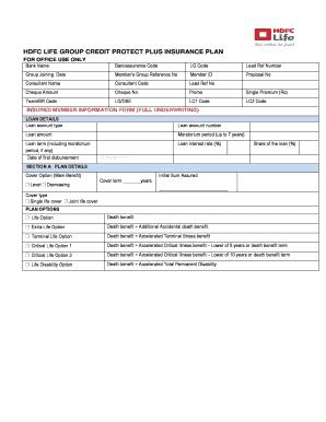 hdfc personal loan agreement pdf - Edit Online, Fill ...