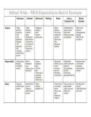 literature review matrix example