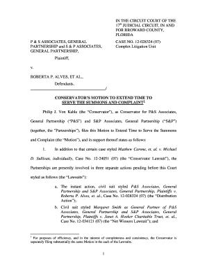 Broward County Civil Summons Form  Civil Summons Form