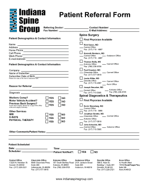 referral letter template