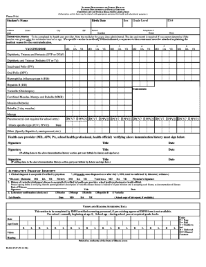 Illinois school eye exam form - Edit & Fill Out, Download ...