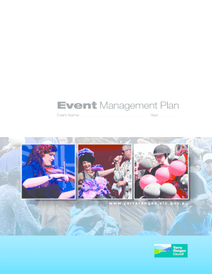 Event Management Plan - Yarra Ranges