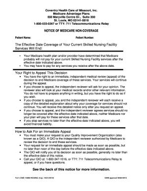 Fillable Online CHC-MO Missouri QIOSNF NOMNC Template2011doc Fax ...