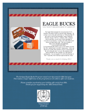 Eagle Bucks Flyer.doc - sbaeagles