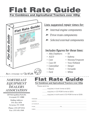 ford flat rate guide