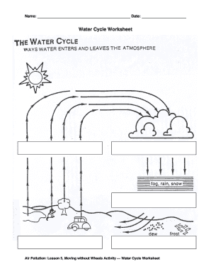 Fillable online apl5act1watercycleworksheetdraft3tedldwcc fax fill online ccuart Images