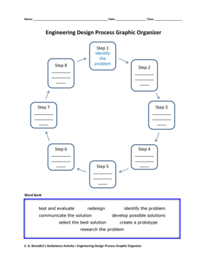 Engineering Design Process Graphic Organizer Pdf Fill Online Printable Fillable Blank Pdffiller