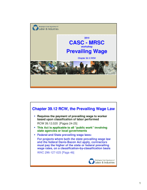 12 rcw the prevailing wage law fill online printable fillable