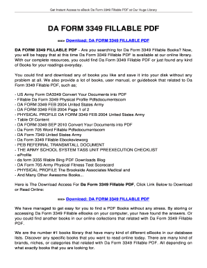 da form 3349 2016 Templates - Fillable & Printable Samples for PDF ...
