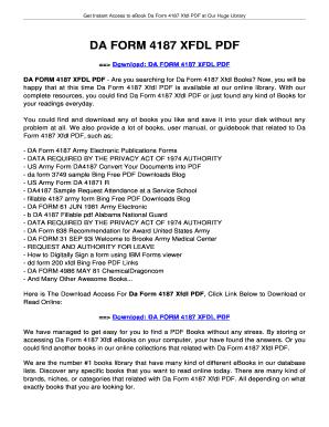 Fillable Online innotexa DA FORM 4187 XFDL PDF - innotexabiz Fax ...