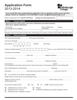 rosebank college online application forms