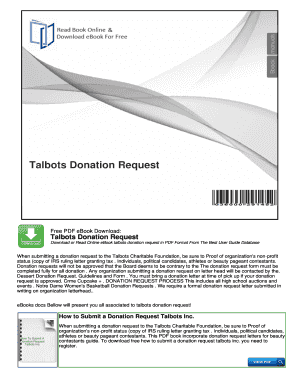 6 Printable sample donation request letter to a company