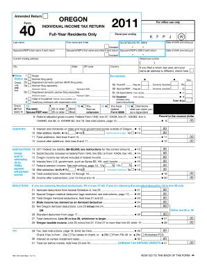 Form 40 Oregon Cogu Lessecretsdeparis Co