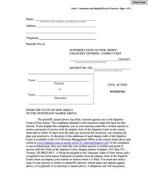 civil lawsuit complaint - Printable Governmental Templates
