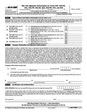 941 form 2013  Fillable Online Form 16-EMP October 16 IRS e-file ...