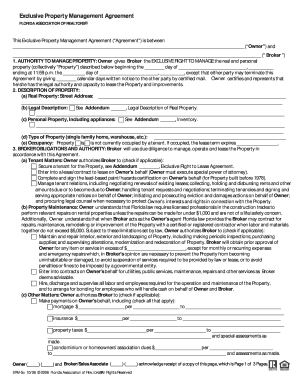 17 Printable Property Management Agreement Doc Forms And Templates
