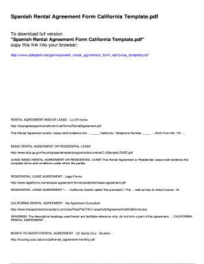 Fillable California Room Rental Agreement Edit Online