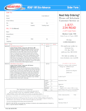 Readread180 - Fill Online, Printable, Fillable, Blank