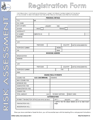 industrial risk assessment template - risk assessment template forms fillable printable