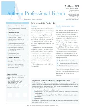 Submit Printable anthem blue cross medi cal dental coverage