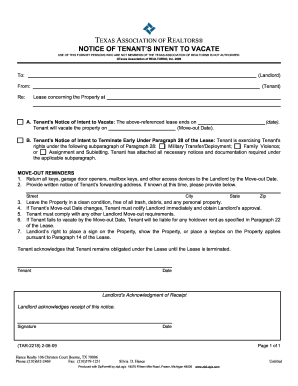 Texas Eviction Notice Template Forms and Templates - Fillable ...