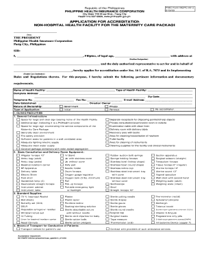 Mcc application form - Philippine Government Public Domain ...