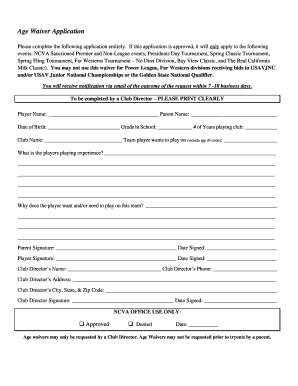 waiver health coaching printable form