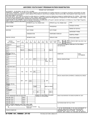 Form 1181 - Fill Online, Printable, Fillable, Blank | PDFfiller
