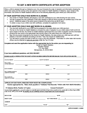HS-88 NEW Birth Certificate after Adoption Fill in the Blank.doc. Application for IV-D Services / Genetic Testing Agreement (Eng/Spanish)