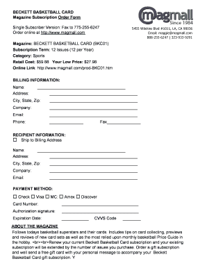 beckett basketball pdf magazine form