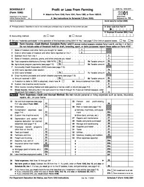 Fillable Form 1040--schedule c profit or loss from business