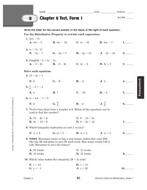 Testform 8 - Fill Online, Printable, Fillable, Blank | PDFfiller