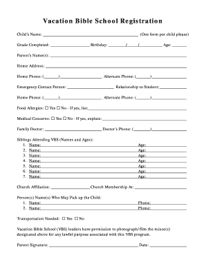 Choir Membership Form Pdf