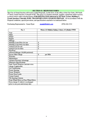 Editable Vehicle maintenance proposal template - Fill Out