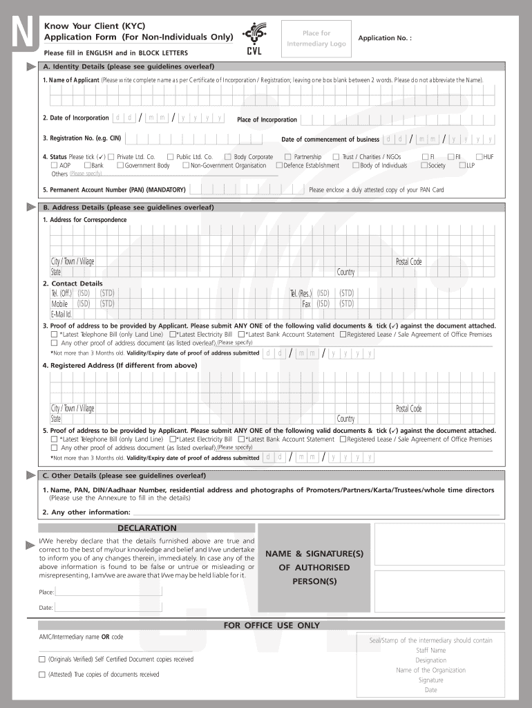kyc form of united bank of india pdf