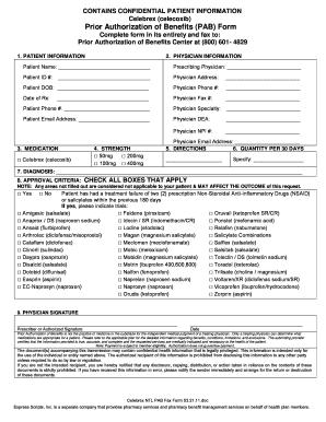 celebrex ntl pab fax form fill online printable fillable blank