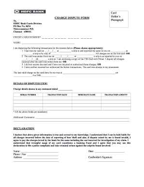 Hdfc forex application form
