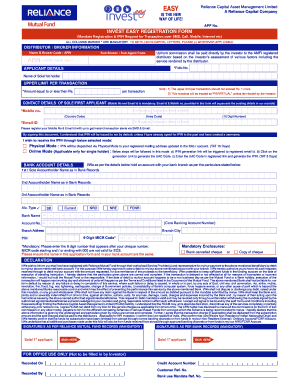 Mirae asset mutual fund common application form pdf